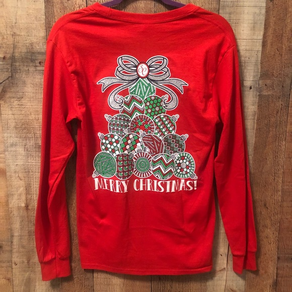 Christmas Ornament Tops.Nwot Southern Couture Christmas Ornament T Shirt
